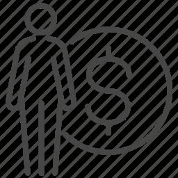finance, income, loan, money, personal, wealth icon