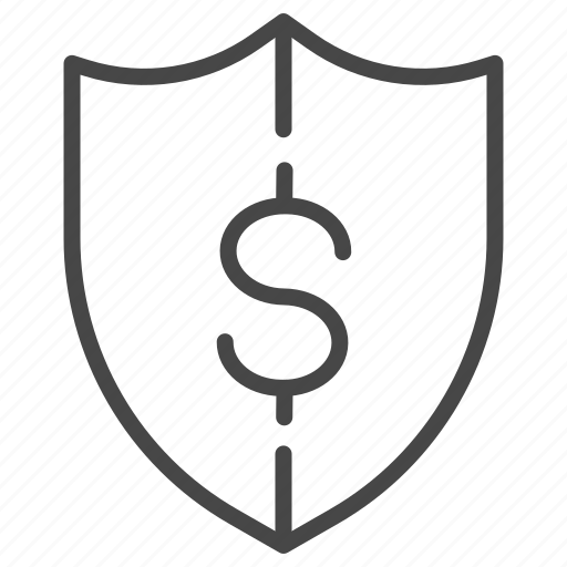 financial, insurance, loan, money, plan, protection, risk icon