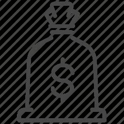 bag, financial, loan, money, profit, wealth icon