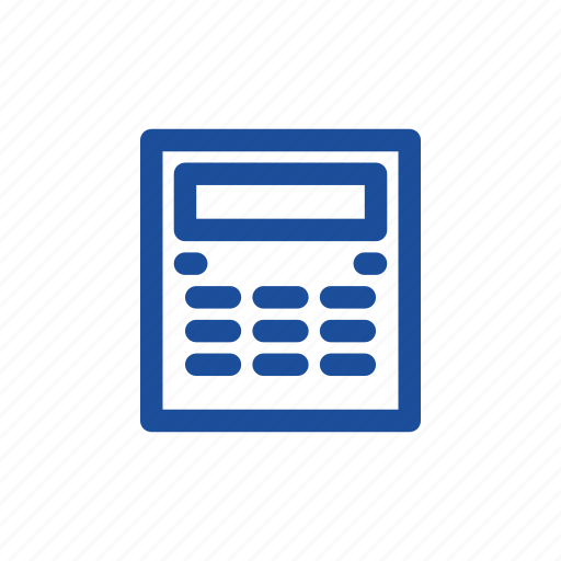 calculation, calculator, computing icon