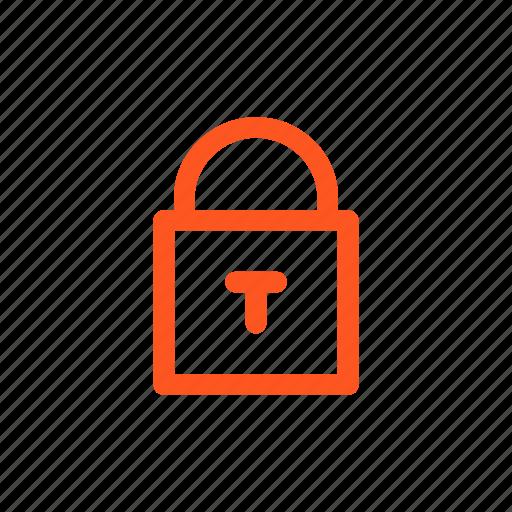 blockage, blocking, guard, lock, locking, lockout, security icon