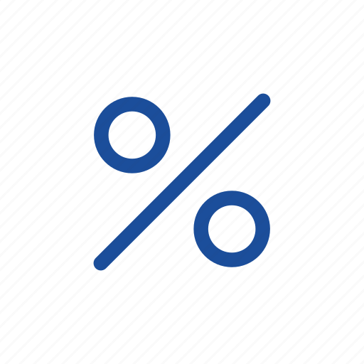 discounts, interest, interest rate, mortgage rate icon