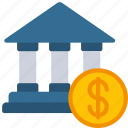 bank, loan, loans, money icon
