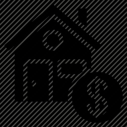 finance, home, money, mortgage icon