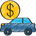 car, finance, loan, loans, money icon