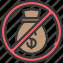 finance, loans, money, no icon