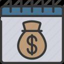 calendar, date, loan, loans icon