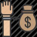 finance, loan, loans, tied, to icon
