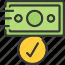 cash, fast, finance, loans, money icon