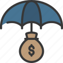 finance, insured, loan, loans, money icon