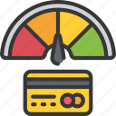 card, credit, history, loans, money icon
