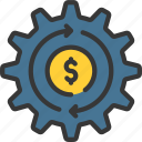 automatic, loans, payments, settings icon