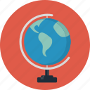 earth, globe, map, travel, world icon