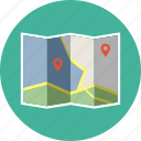 direction, locators, map icon