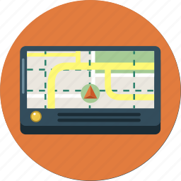 device, direction, gps, location icon