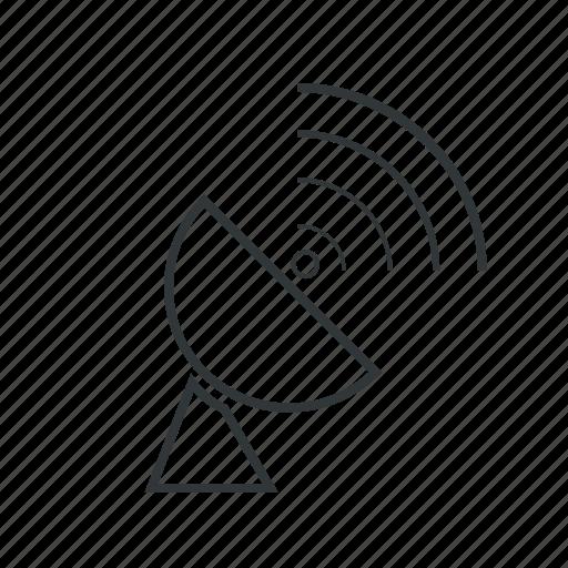 antenna, gps, location, navigation, radar, satellite, signal icon
