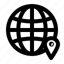 direction, gps, location icon