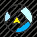 gps, location, map, navigator icon