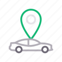 car, location, map, tracking, vehicle