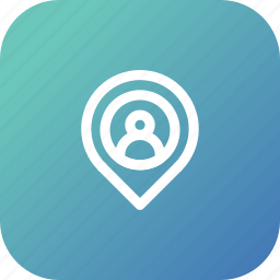 gps, location, marker, navigation, pin, user icon