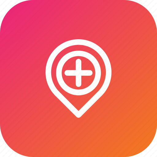add, location, marker, navigation, pin, place icon