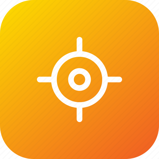 destination, location, place, target icon