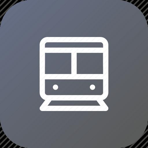 train, transport, travel, vehicle icon