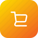 cart, mall, place, shopping, trolley icon