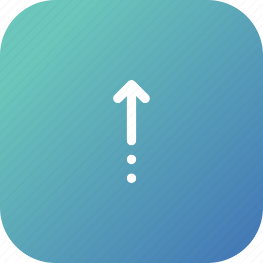 arrow, direction, location, straight, up icon
