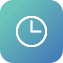 clock, compass, manage, navigation, time icon