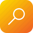 direction, find, glass, magnifier, search icon