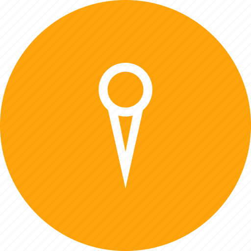 location, marker, pin, point, tag icon