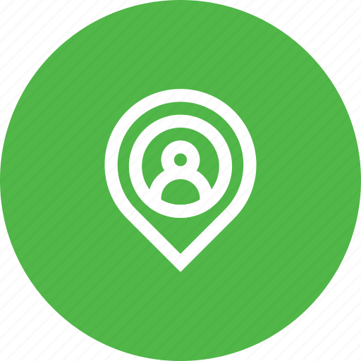 Gps, location, marker, navigation, pin, user icon - Download on Iconfinder