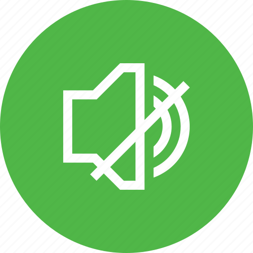 audio, music, mute, sound, speaker, volume icon