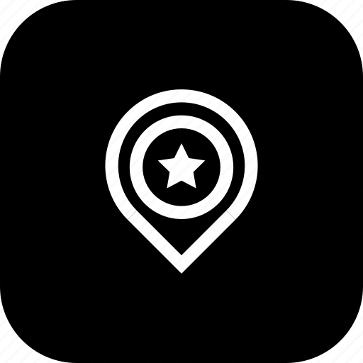 Favorite, location, marker, navigation, pin, place icon - Download on Iconfinder