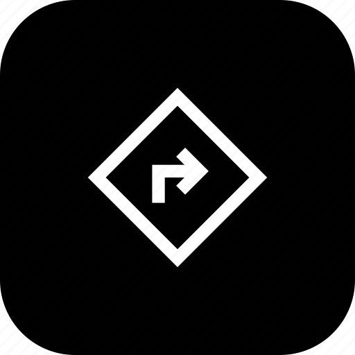 arrow, direction, right, sign, way icon
