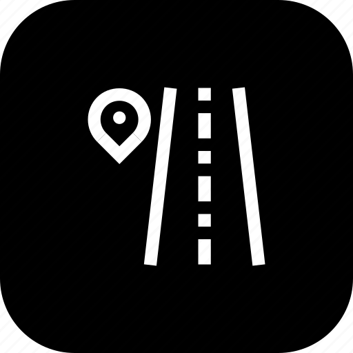 direction, path, place, road, sign, way icon