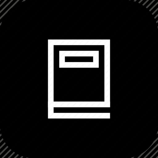 book, guide, knowledge, read icon