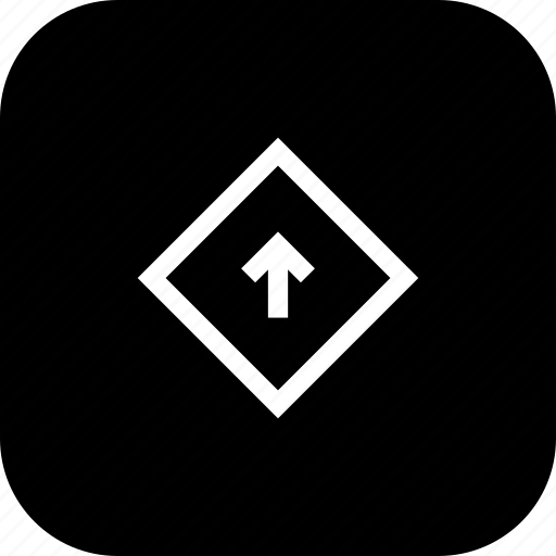 arrow, direction, down, sign, way icon
