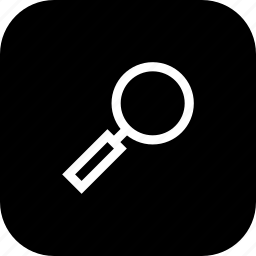 find, glass, magnifier, magnify, search, zoom icon