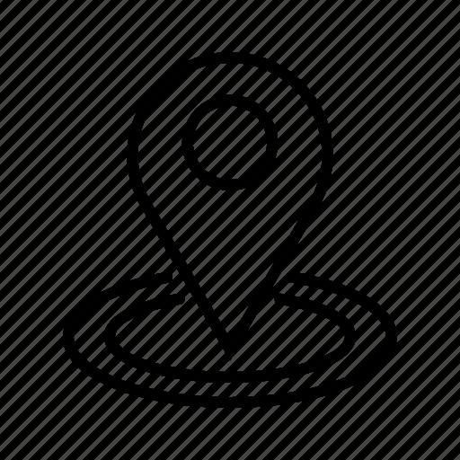 gps, location marker, location pin, navigation pin, pin address, save location icon