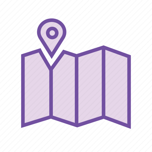 gps, location pin, map, navigation pin, places icon
