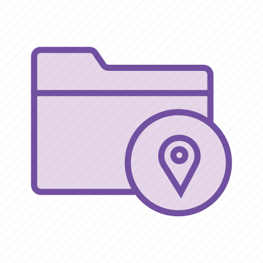 folder location, folder path, pin folder, save folder location, share folder icon