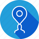 gps, location, marker, navigation, people, person, pin icon