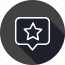 favorite, location, map, navigation, place, star, tag icon