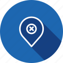 false, geo, location, map, navigation, pin, wrong icon