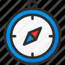 compas, location, navigation, pin, pointer, position