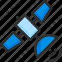 location, orbit, pin, pointer, position, satellite, sputnik icon