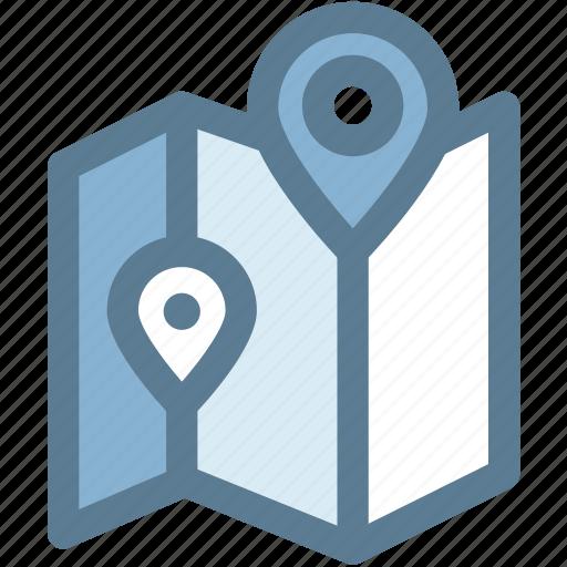 google map, location, map, navigation, navigator, pin, position icon