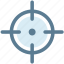 crosshair, direction, location, locator, navigation, position icon